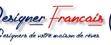Logo le designer francais votre designer architecte constructeur de maisons sur mesure en ile de france