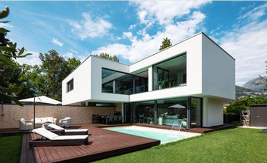 le designer français professionnalisme haut de gamme et sur mesure pour la construction constructeur architecte maison neuve design de style contemporain